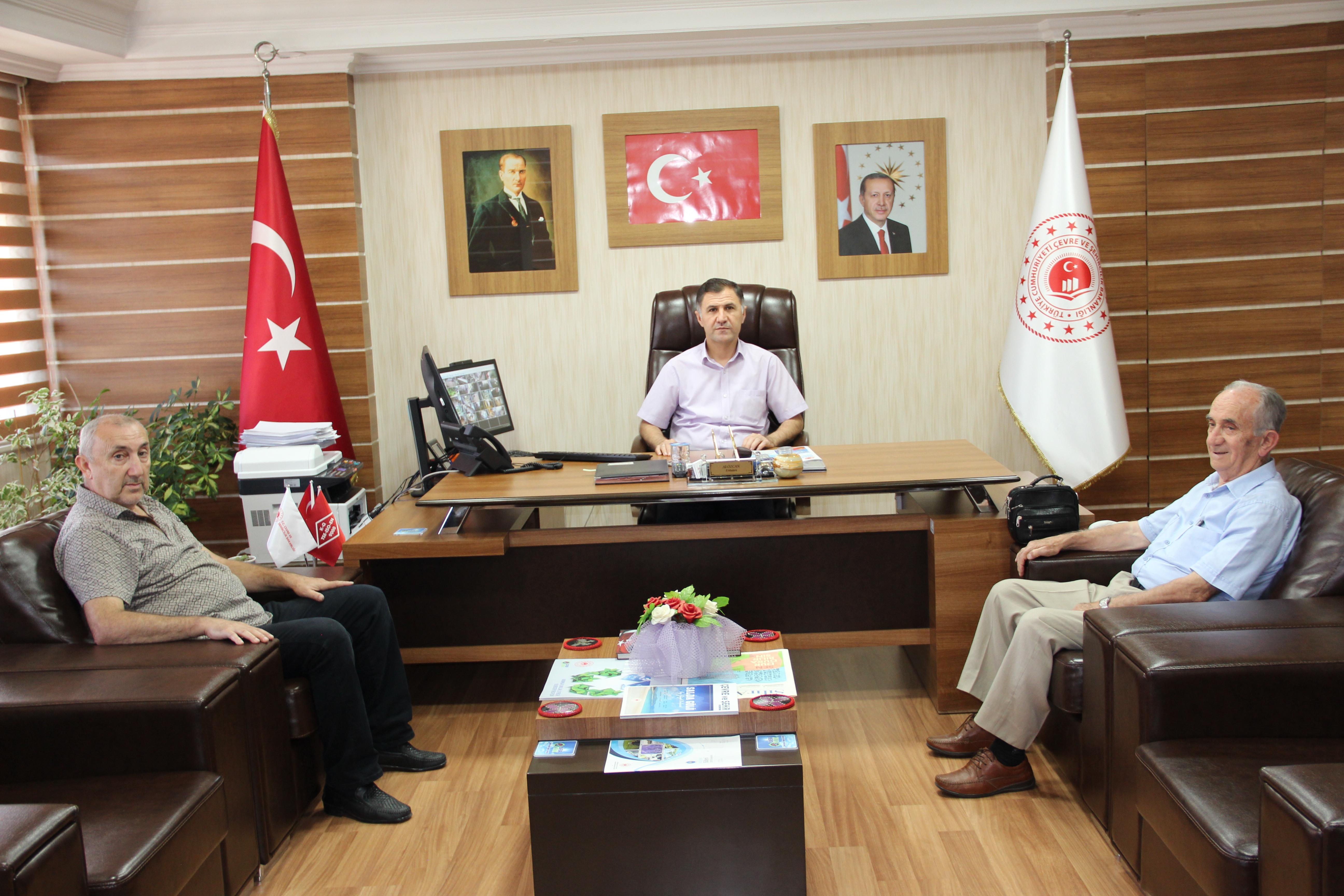 Türkiye Emekliler Derneği Bartın Şubesinden Ziyaret