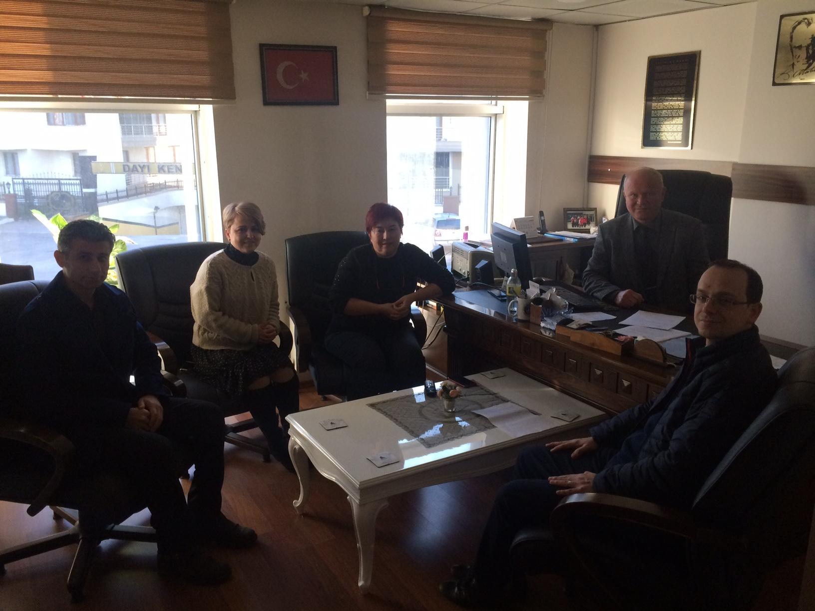 Bartın Öğretmenevi ve ASO Müdürlüğü'nde Sıfır Atık Projesi Konulu Toplantı Yapıldı