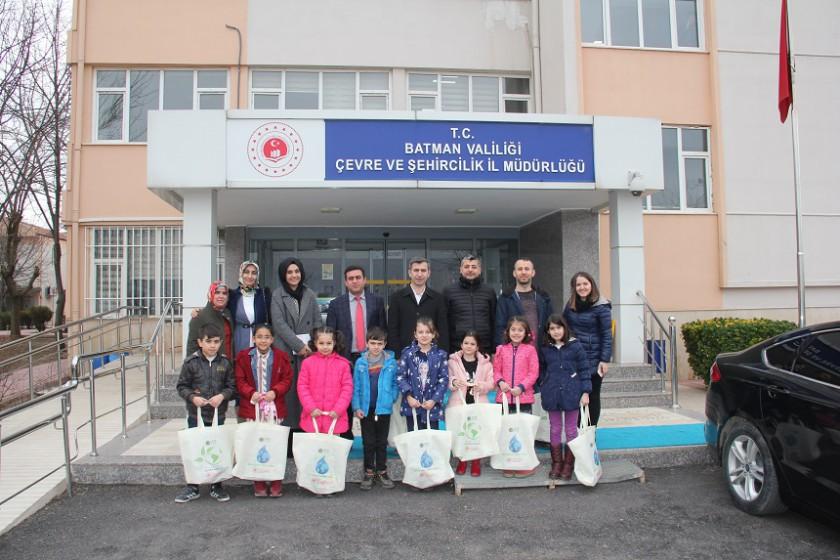 Yeni Şehrin Mühendisleri Konulu Turnuvaya Hazırlanan Nureddin Zengi İlkokulu Öğrencileri İl Müdürlüğümüzü Ziyaret Etti
