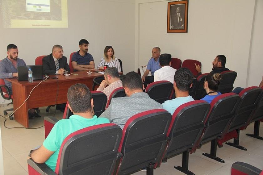 Yerbilimsel Etüt Bilgi sistemi (YERBİS)  Tanıtım Toplantısı Yapıldı