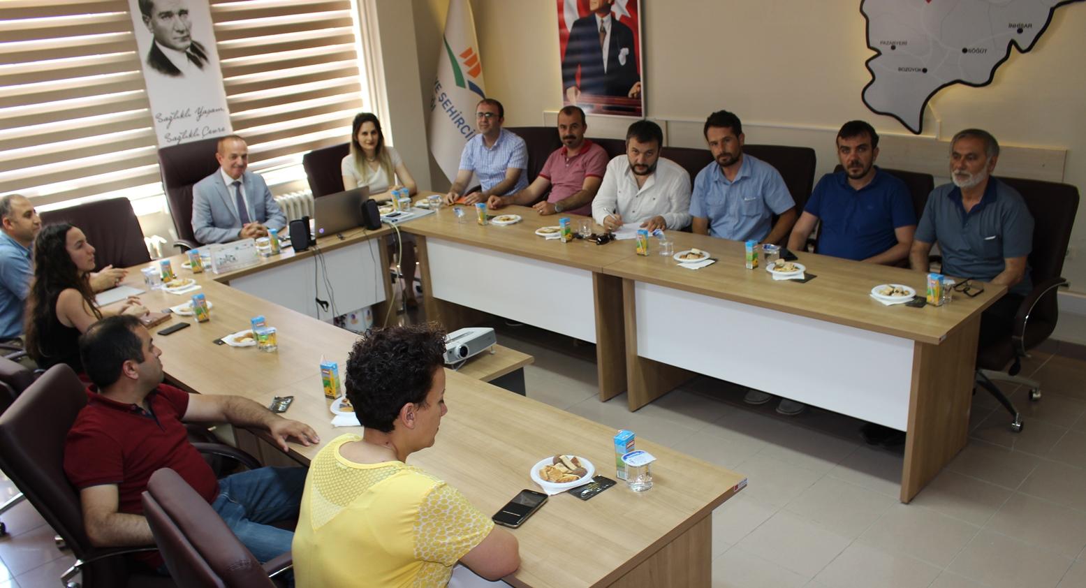 Yapı Denetim Firmalarıyla Bilgilendirme Toplantısı
