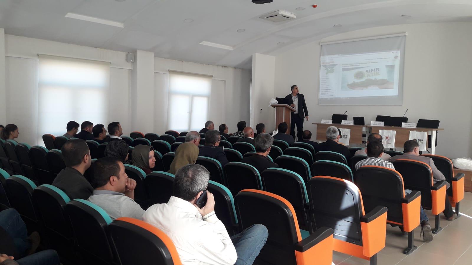 Bingöl 2023 Vizyonu Projesi ve Gençlik Çalıştayı eğitimleri düzenlendi.