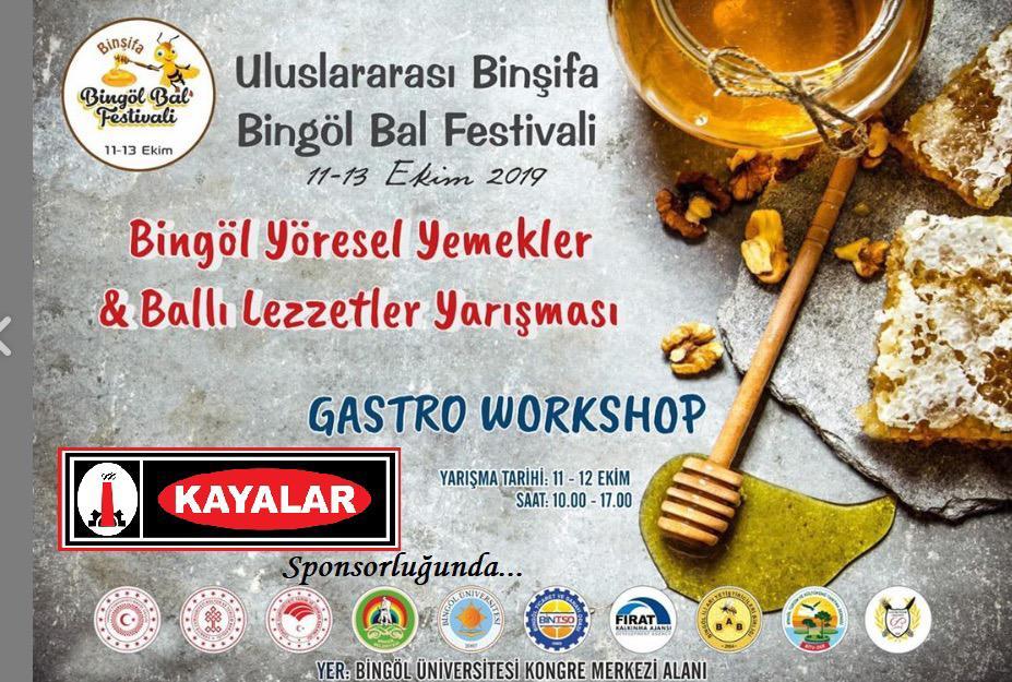 ULUSLARARASI BİNŞİFA BİNGÖL BAL FESTİVALİ (11-13 EKİM 2019)