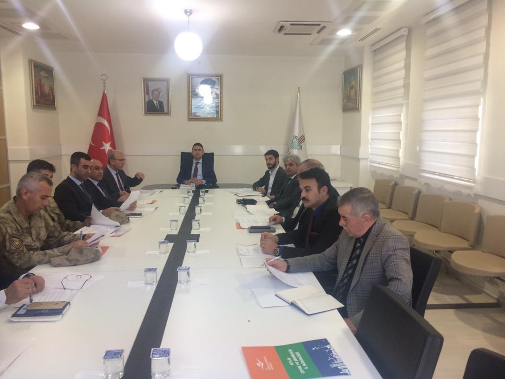 2020-2024 Bitlis İli Temiz Hava Eylem Planı İl Mahalli Çevre Kurulu Toplantısı