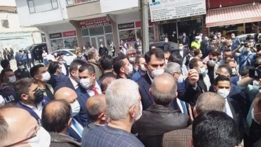 Bakanımız Sayın Murat KURUM'un İlimizdeki Çalışmalara Yaptığı Ziyaret
