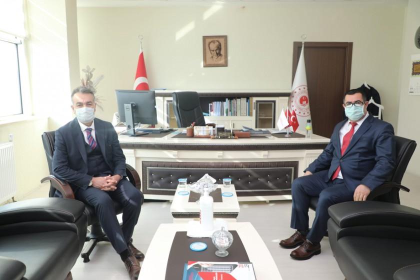 Bitlis Valisi Oktay ÇAĞATAY'ın İl Müdürümüzü Tebrik Ziyareti