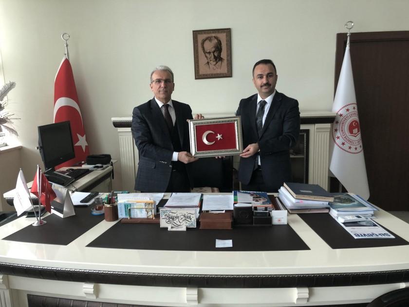 Mutki Belediye Başkanı Sayın Vahdettin BARLAK'ın Ziyareti