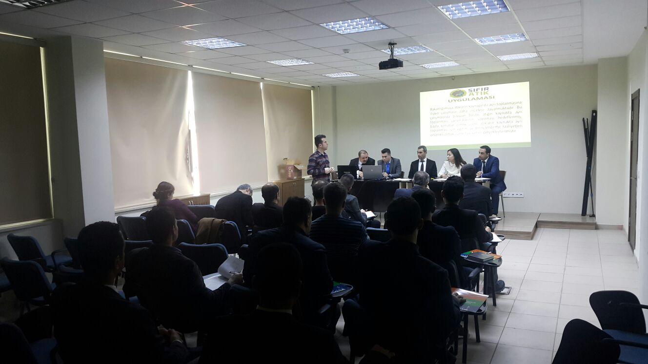 İlimizdeki Kamu Kurumlarına Sıfır Atık Projesi Tanıtım Toplantısı  Yapıldı