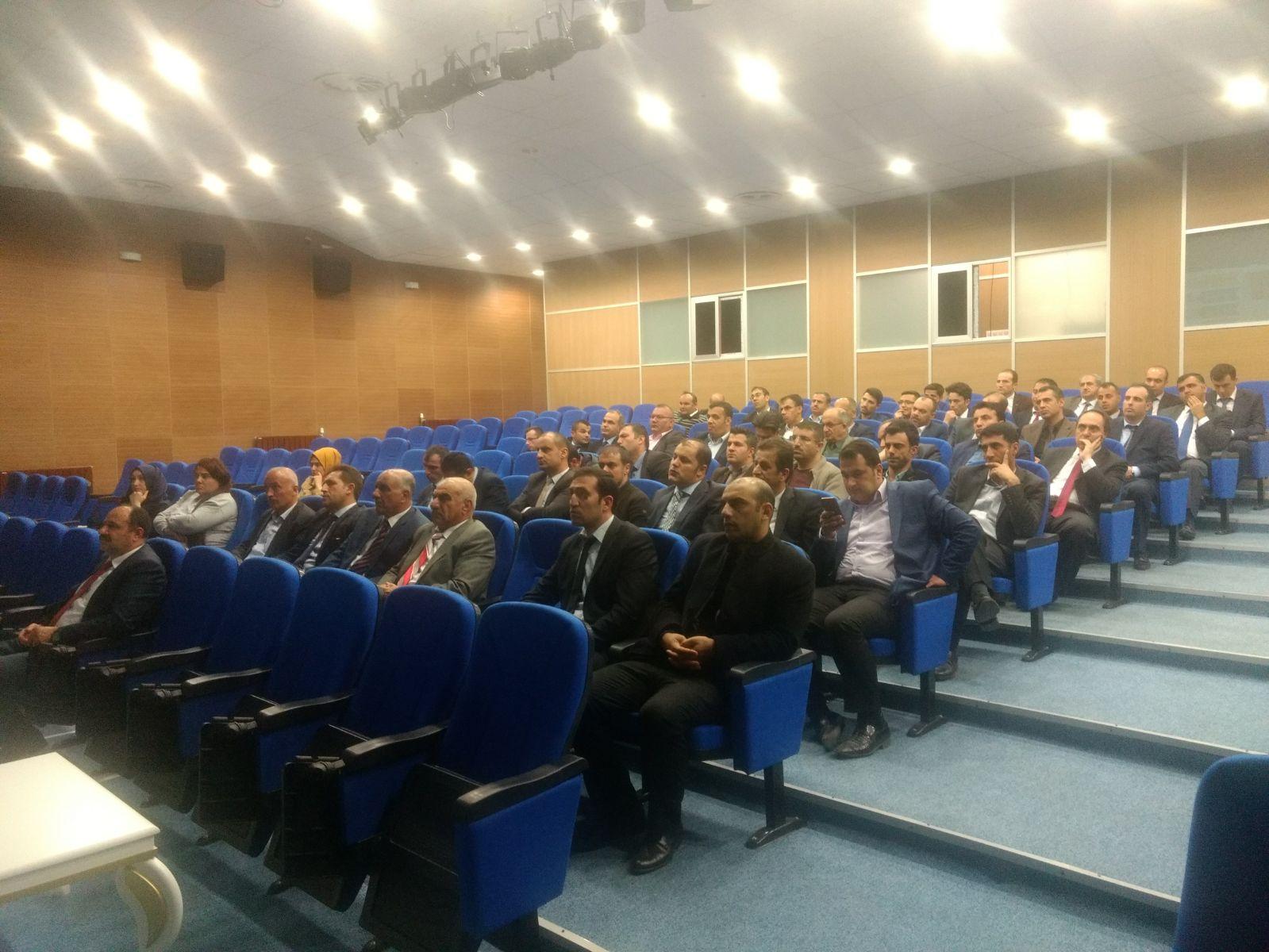 Sıfır Atık Projesi Hakkında İlimizdeki Okul Yöneticilerine Bilgilendirme Toplantısı Yapıldı