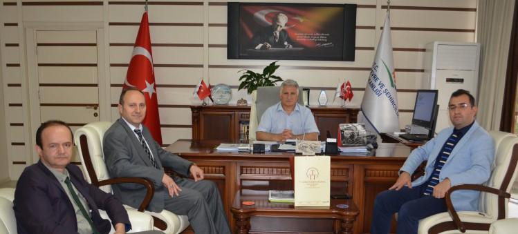 Abant Palace Yöneticilerinin Müdürlüğümüzü Ziyareti