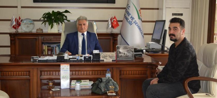 Bolu Takip Gazetesinin Müdürlüğümüzü Ziyareti