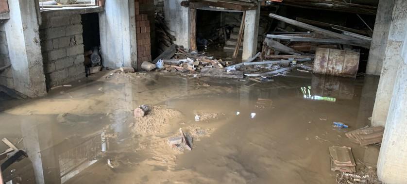 Mengen de Su Baskını Nedeni ile Hasar Tespit Çalışmaları Yapıldı