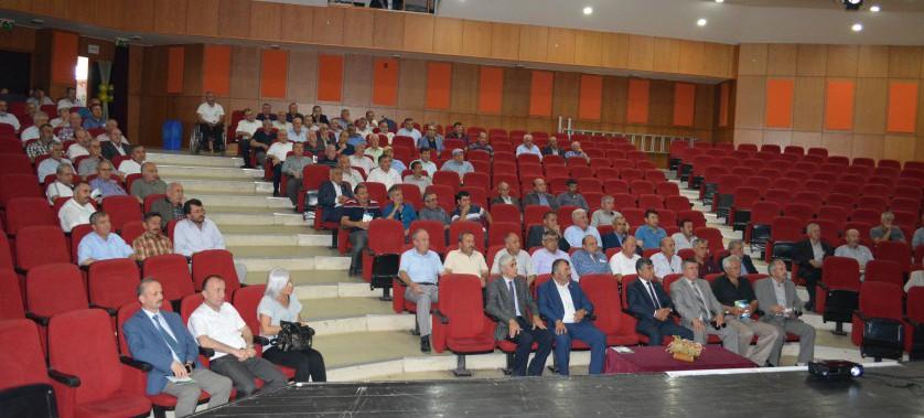 Merkez İlçe Muhtarlarının İmar Barışı Hakkında Bilgilendirme Toplantısı