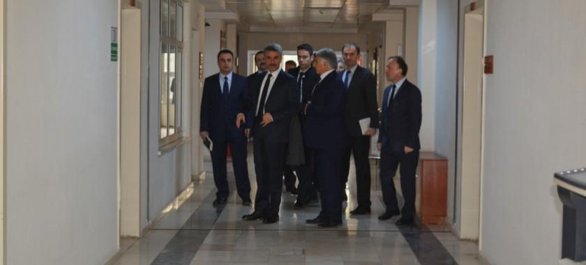Sayın Valimiz Aydın BARUŞ'un Müdürlüğümüzü ziyareti