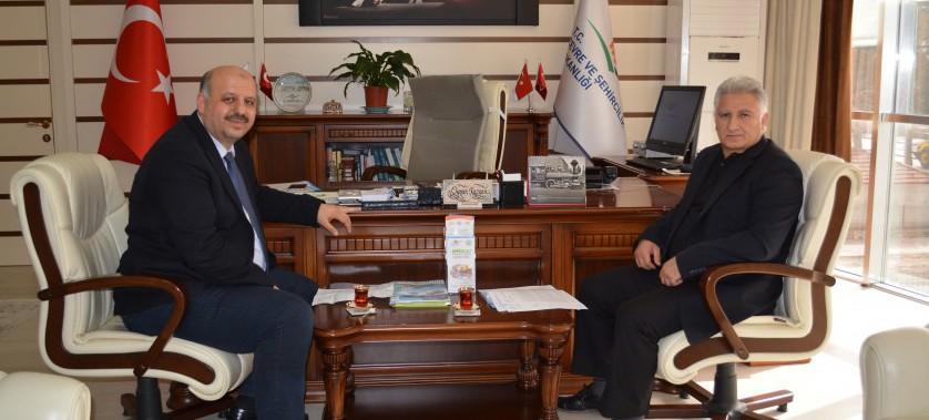 Sayın Vekilimiz Ali ERCOŞKUN'un Müdürlüğümüzü ziyareti