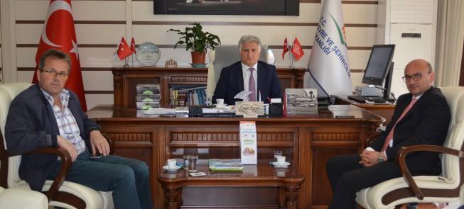Yalova Altınova Belediye Başkanının Müdürlüğümüzü Ziyareti