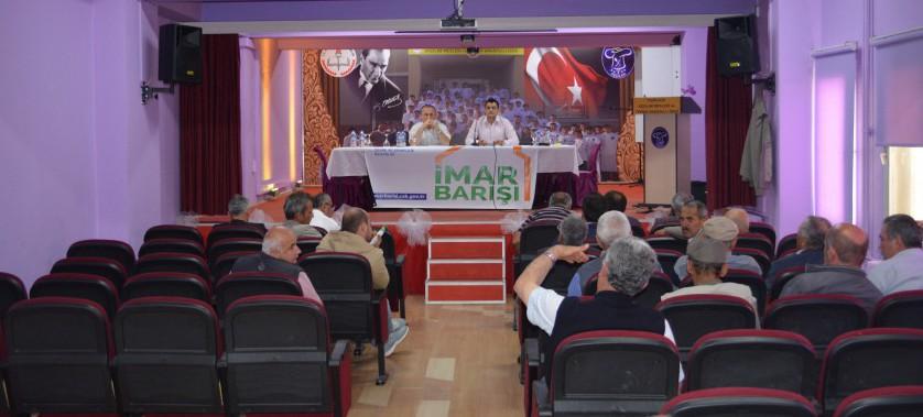 Yeniçağa İlçemizde İmar Barışı Bilgilendirme Toplantısı