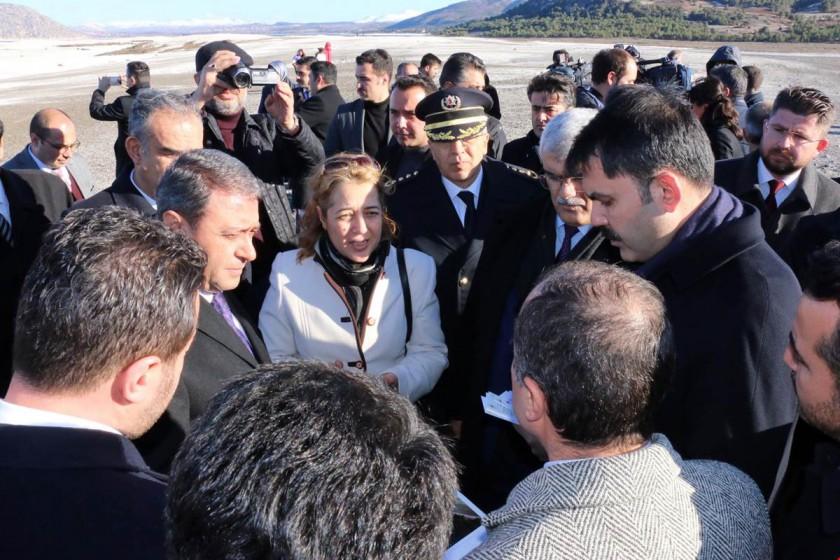 Bakanımız Murat KURUM Çevre ve Şehircilik Bakanlığı Tarafından Yürütülen Çalışmaları Yerinde İnceledi