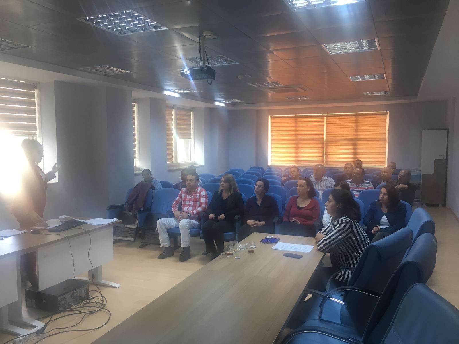 İl Müdürlüğümüz çalışanlarına Burdur Sağlık İl Müdürlüğü uzmanları tarafından