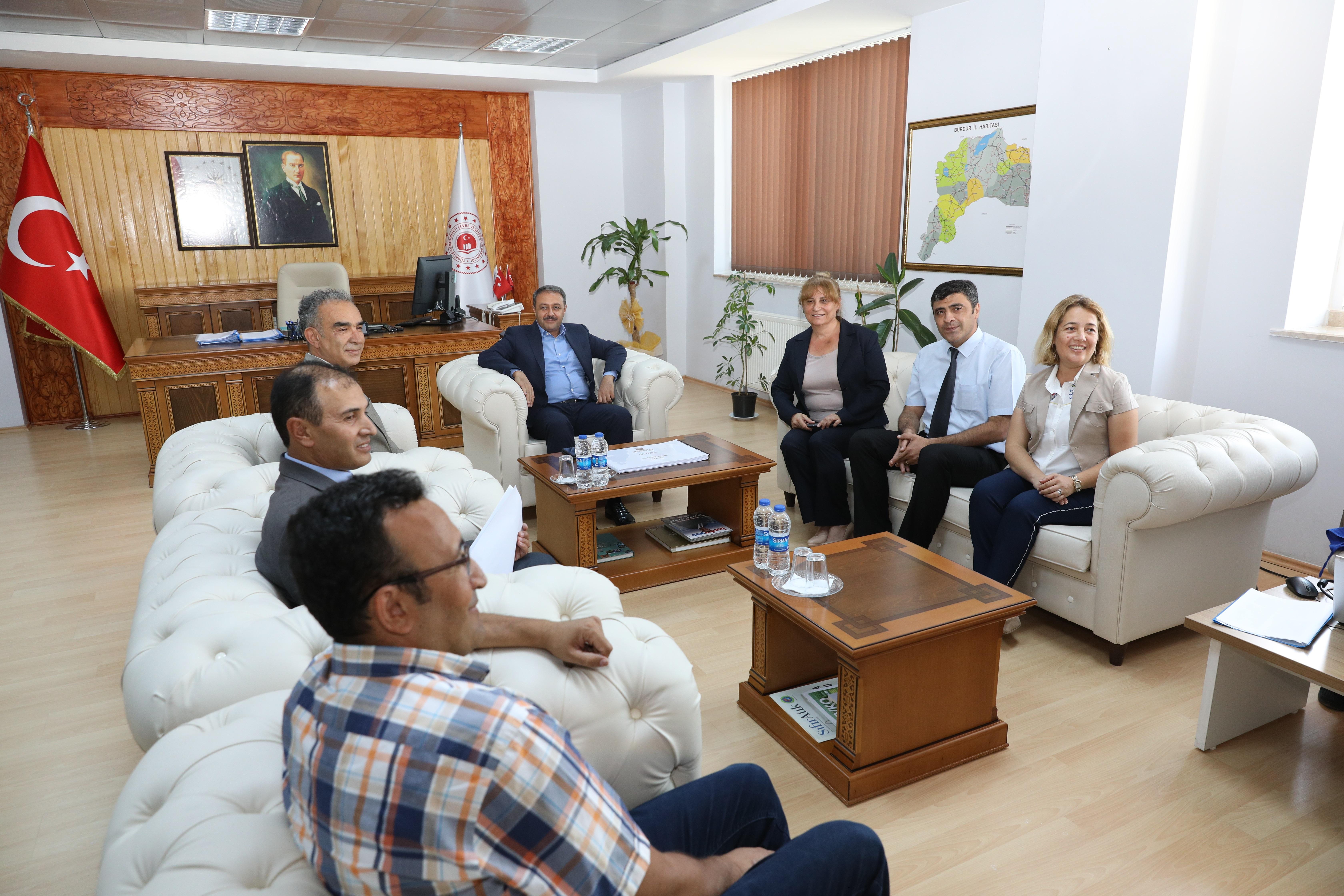 Sayın Valimiz Hasan ŞILDAK Müdürlüğümüzü Ziyaret Etti