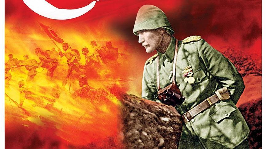 Anafartalar Kahramanı başta Gazi Mustafa Kemal Atatürk ve Silah arkadaşlarının Anafartalar Zaferinin 103. yıl dönümü münasebetiyle Rahmet ve Minnetle anıyorum. Mekanları Cennet olsun. Ömer BOLAT İl Müdürü
