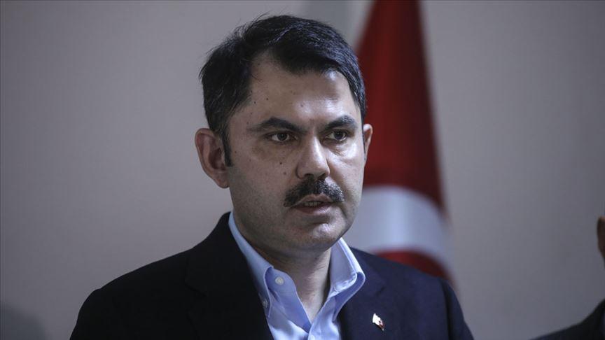 Çevre ve Şehircilik Bakanı Kurum: Hazine taşınmazlarının ihaleleri iptal edildi.