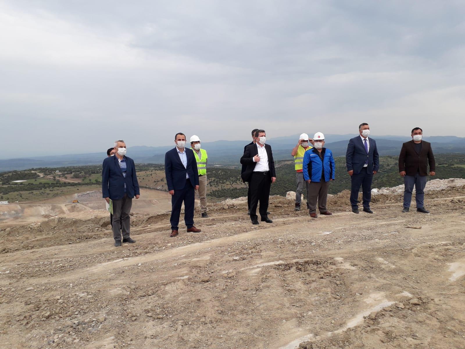 Çevreci Proje Troas Bölgesi Katı Atık Bertaraf Tesisi Çalışmaları Devam Ediyor