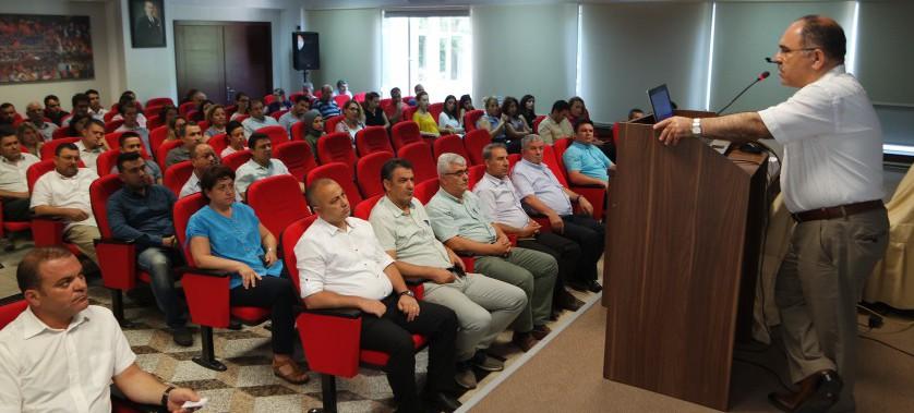 2019 yılı ilk 6 aya ait Müdürlüğümüz faaliyetlerinin değerlendirme toplantısı yapıldı