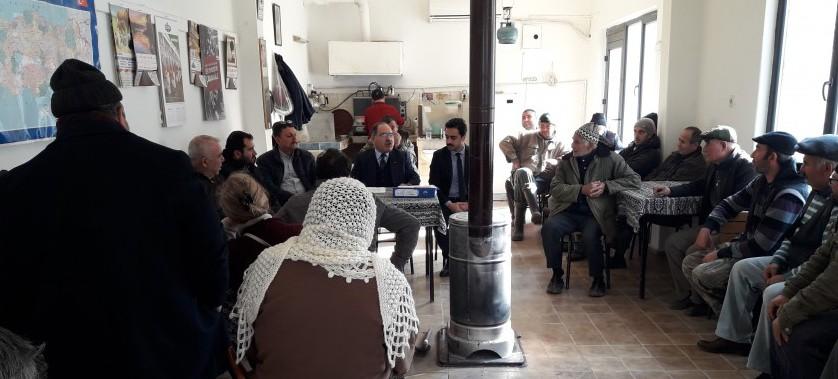 Ayvacık Babakale Köyü'nde İskan Duyurusu Toplantısı Yapılmıştır