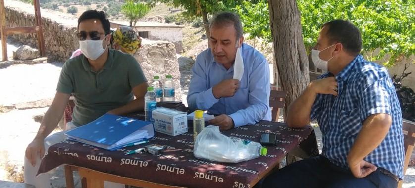Ayvacık Yukarıköy'de İskan Duyurusu Toplantısı Yapılmıştır
