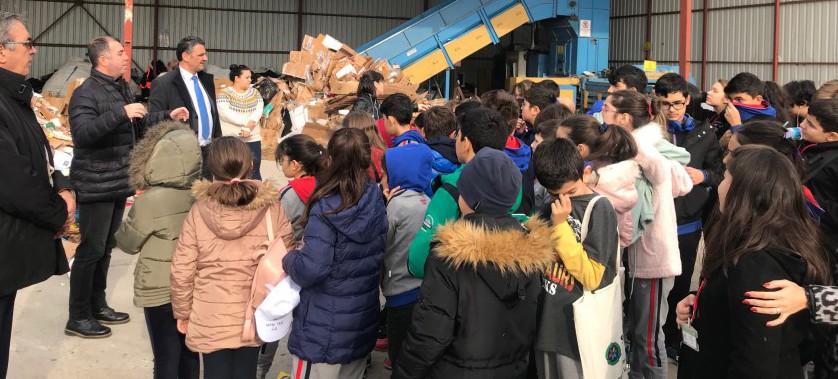 Bahçeşehir Koleji Öğrencileri ile Sıfır Atık Gezisi