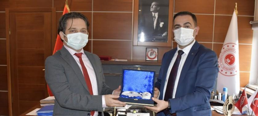 Biga Belediye Başkanından İl Müdürümüz ÇELEN'e ziyaret