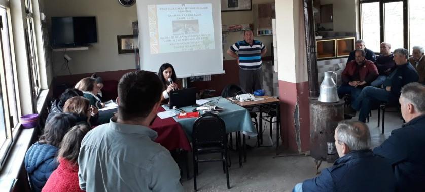 Biga Çakırlı Köyünde ÇED Halkın Katılımı Toplantısı Yapıldı.