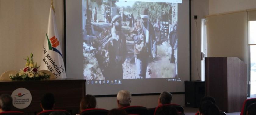 Çanakkale Zaferi'ni ve Kahraman Şehitlerini Anma Programı Düzenlenmiştir