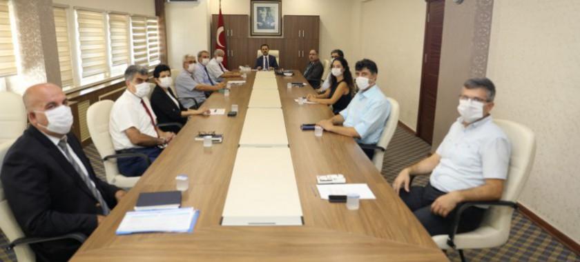 Çanakkale Valisi İlhami AKTAŞ, İl Müdürlüğümüzü Ziyaret Etti