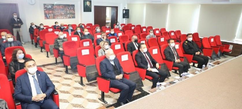 Deniz Çöpleri Eylem Planı ve Yıllık İl Faaliyet Raporu Değerlendirme Toplantısı Yapıldı