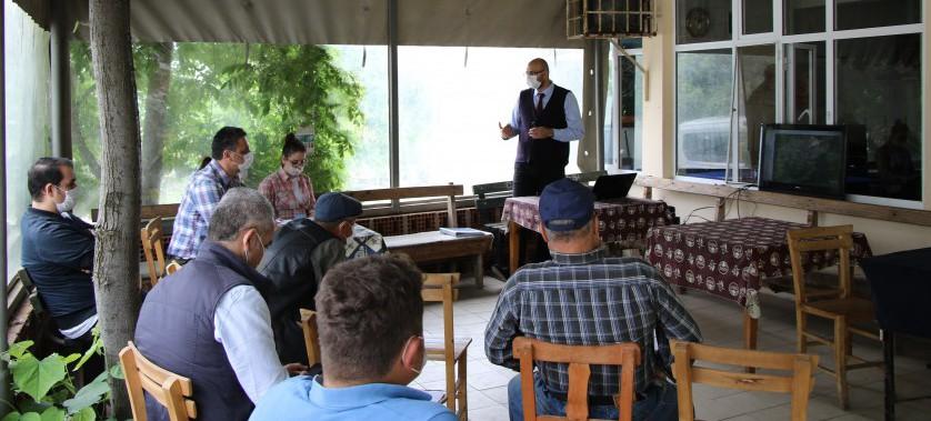 Gülpınar RES Halkın Katılımı Toplantısı Yapılmıştır.