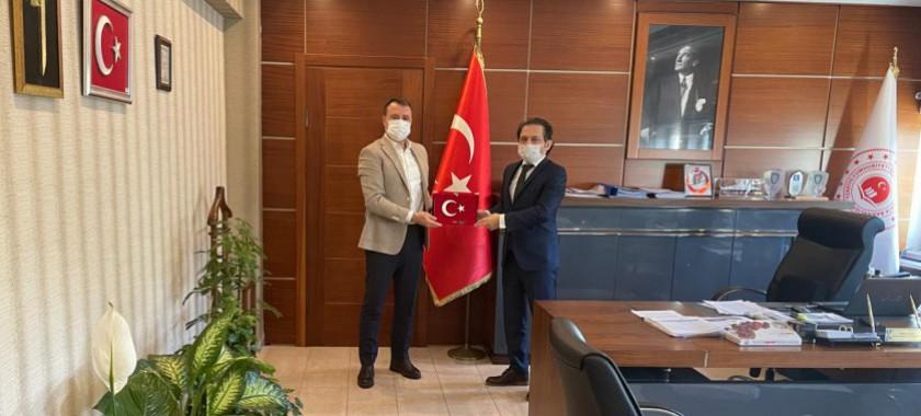 Gümüşçay Belediye Başkanı Adnan Pastırmacı'dan İl Müdürümüze Ziyaret