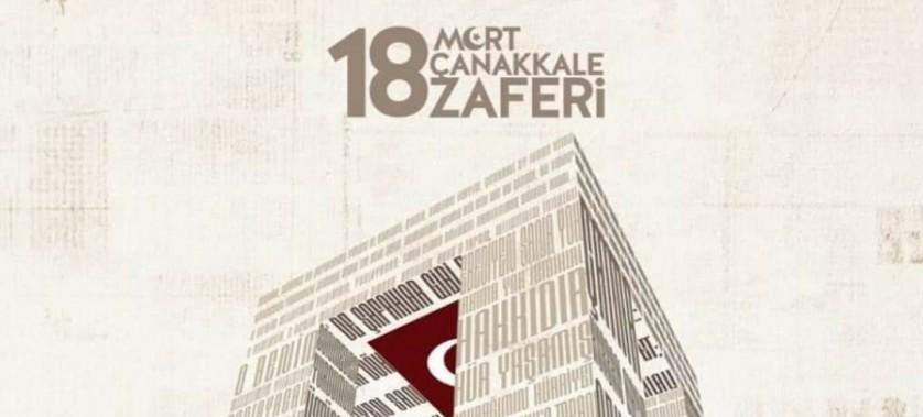 İl Müdürümüz Bekir ÇELEN'in Çanakkale Zaferi'mizin 106. Yıldönümü Mesajı