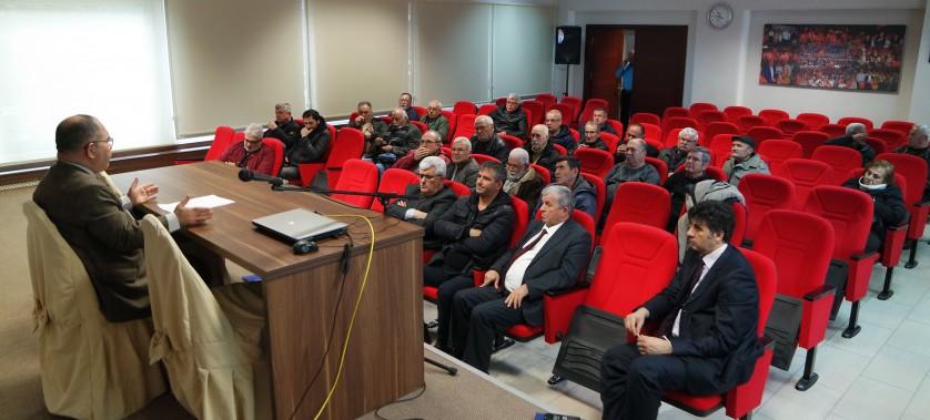 Kentsel Dönüşüm ve Riskli Alanlar Hakkında Toplantı Yapıldı