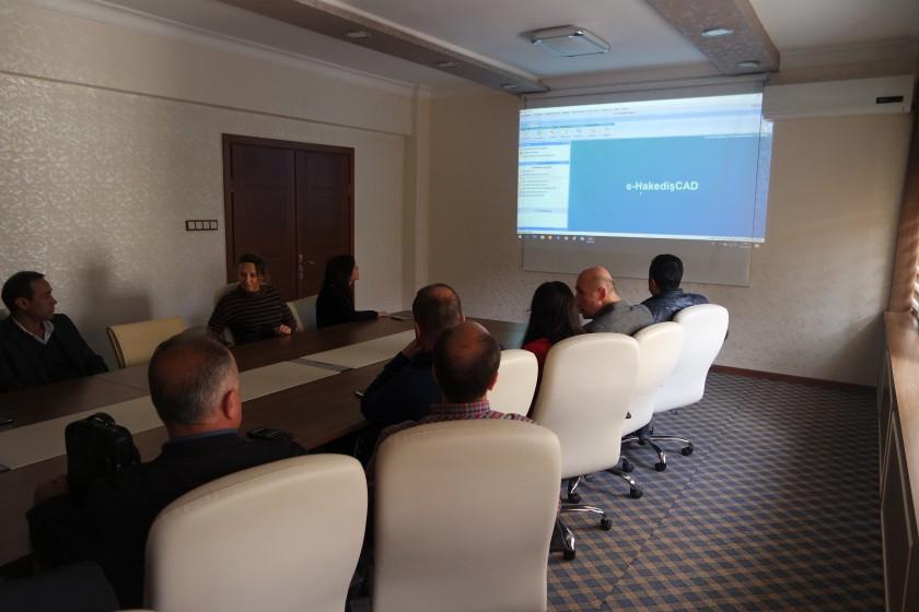 E-Hakediş Oska Eğitimi Düzenlenmiştir.