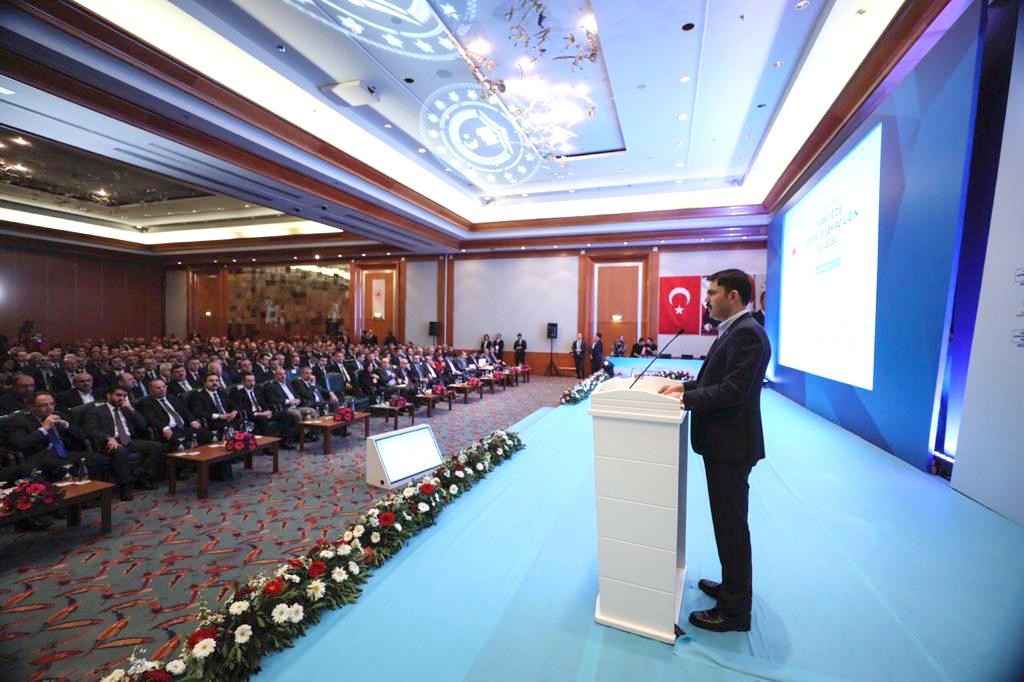 İl Müdürümüz Ömer BOLAT'ın da katıldığı 2023'e doğru Türkiye'de Çevre ve Şehirciliğin Geleceği İstişare Toplantısı Sonuç Bildirgesi Bakanımız Murat KURUM tarafından açıklandı.