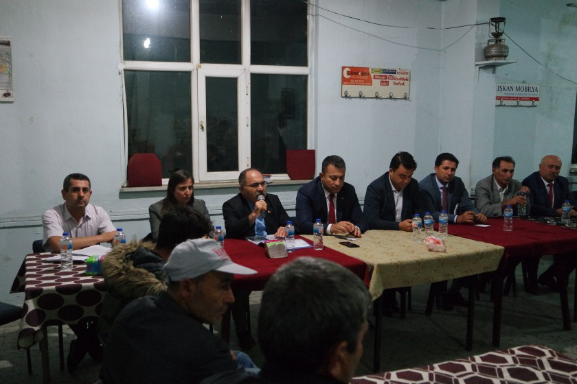 İmar Barışı Bilgilendirme Toplantısı Adatepe Köyünde Yapılmıştır.