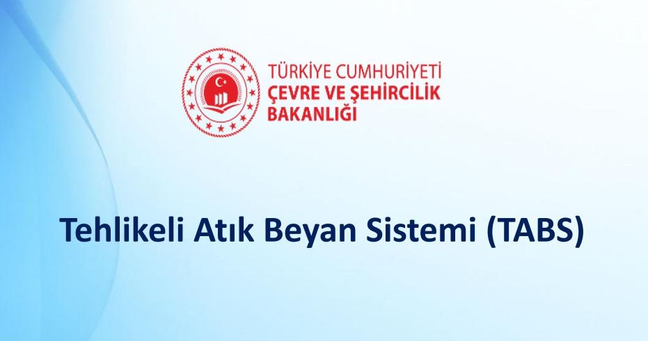TABS Beyan Dönemi 30.04.2020 tarihine kadar uzatılmıştır.