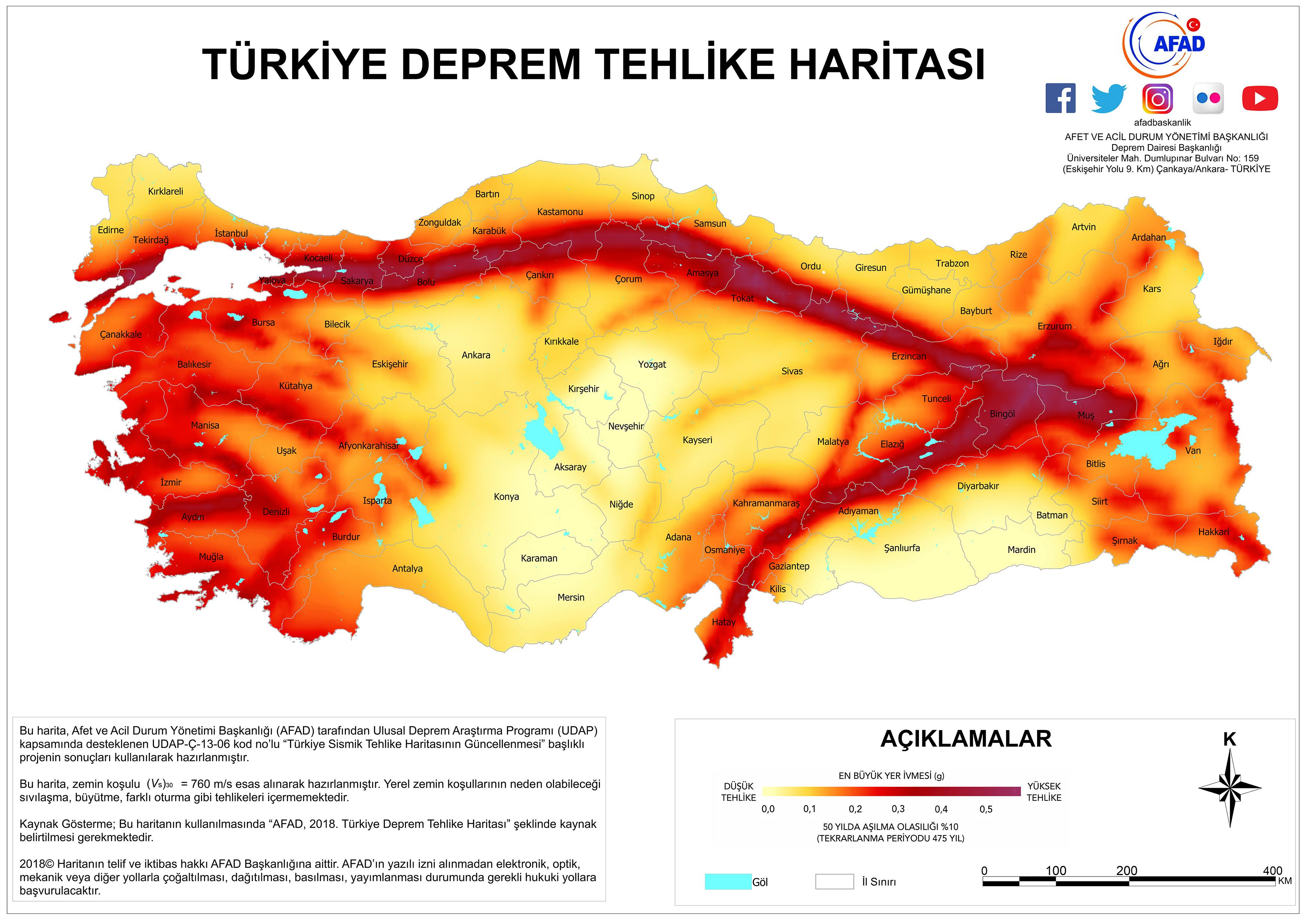 Türkiye Bina Deprem Yönetmeliğine göre  Zemin ve Temel Etüdü Uygulama Esaslarında Yapılan Değişiklikler