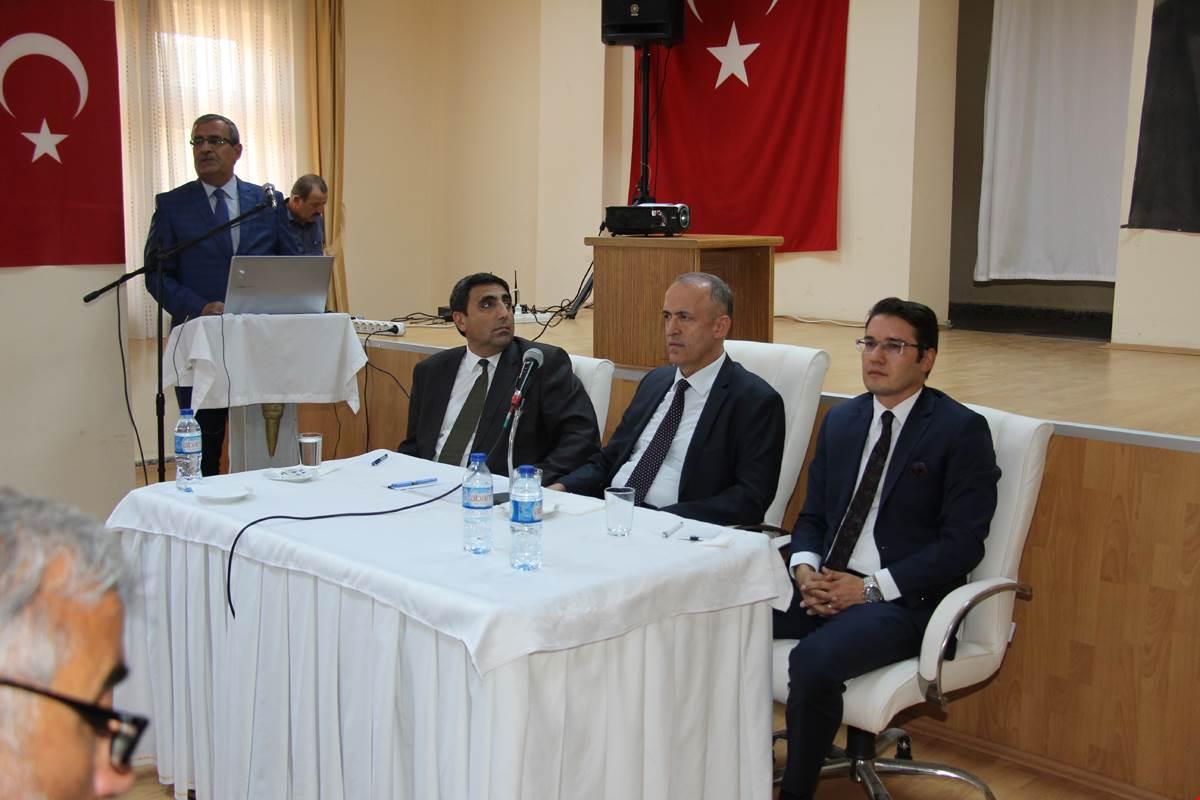 MUHTARLAR TOPLANTISI ELDİVAN'DA YAPILDI