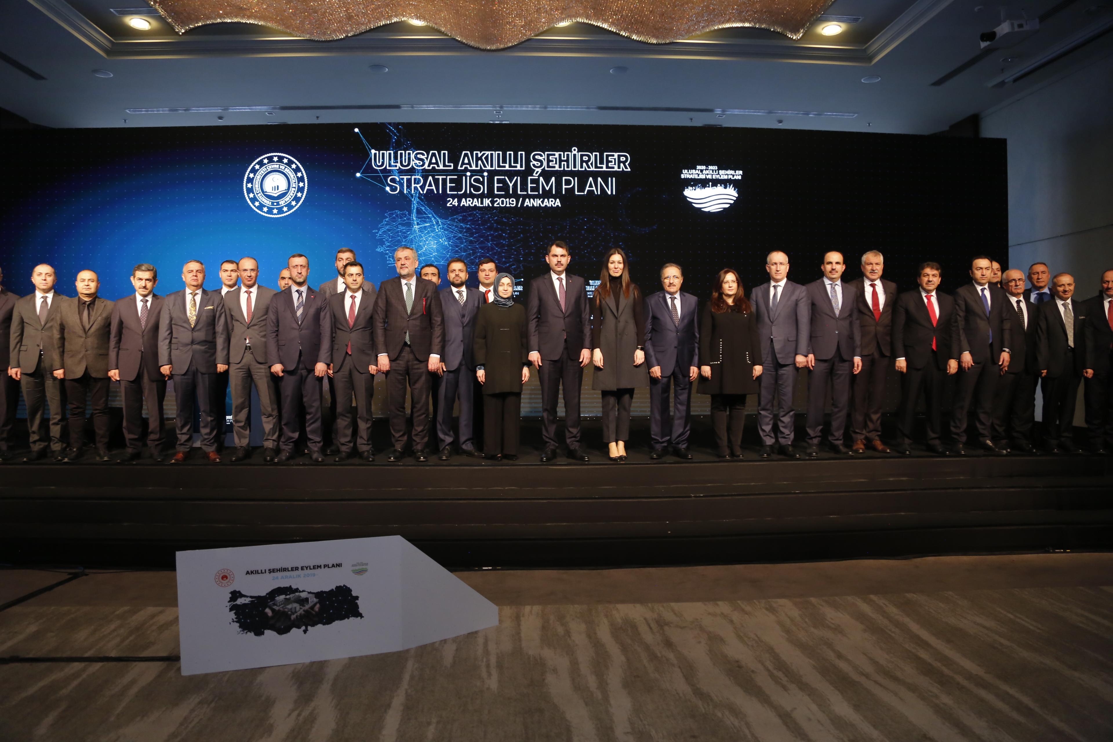 2020-2023 Ulusal Akıllı Şehirler Stratejisi ve Eylem Planının Tanıtımı Bakanımız Sayın Murat KURUM tarafından yapıldı.