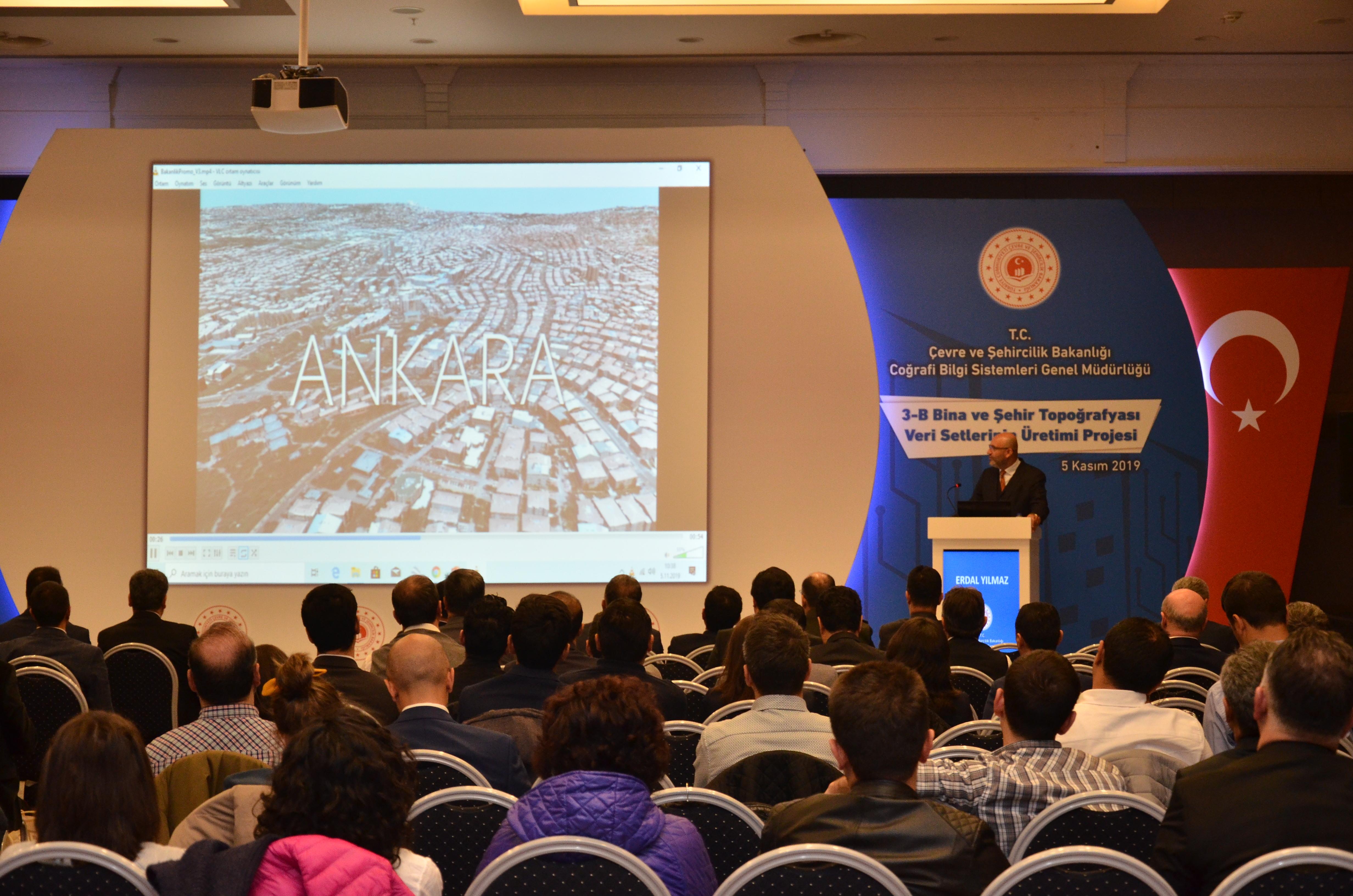 3 Boyutlu Bina ve Şehir Topografyası Veri Setlerinin Üretimi Projesi Çalıştayı Gerçekleştirildi.