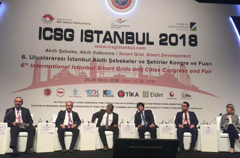6. Uluslararası İstanbul Akıllı Şebekeler ve Şehirler Kongresine Katılım Sağlandı.