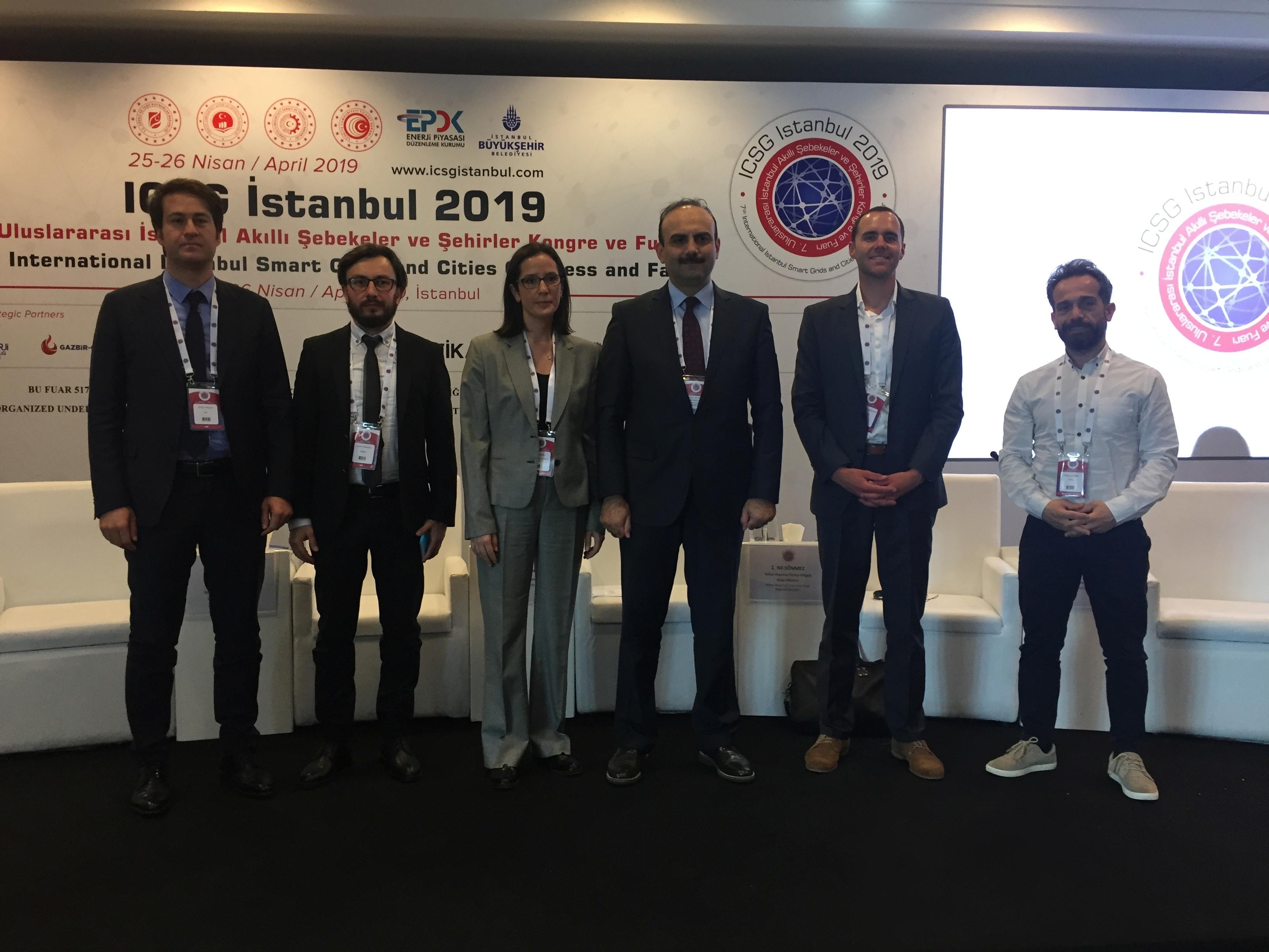 7. Uluslararası İstanbul Akıllı Şebekeler ve Şehirler Kongre ve Fuarına Katıldık.